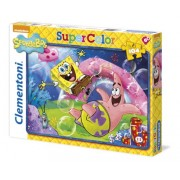 Clementoni 27899 - Spongebob - I'M Ready To Party!! Are You Ready To Party? - Puzzle 104 pezzi