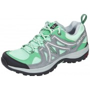 Salomon Ellipse 2 Aero Hiking Shoes Women lucite green/pearl gre 42 Trekkingschuhe