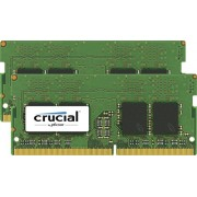 Crucial CT2K8G4SFD824A Kit Memoria 2x8GB, 16GB, DDR4 2400 MT/s, PC4-192000, SODIMM 260-Pin, Verde