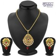Sukkhi Excellent Gold Plated Pendant Set