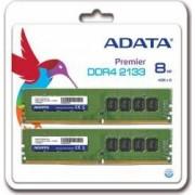 Memorie ADATA Premier 8GB 2x 4GB DDR4 2133MHz CL15