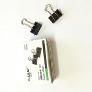 Ysf - Pack 5 Boxes Lot 5 Boxes 12pcs/Box Black Foldback Clips Pinces Grip Filing Lettre Elliot Dossier 19mm
