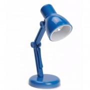 LED boekenlampje Retro blauw