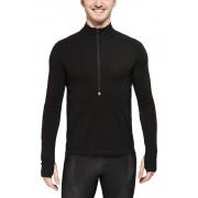 Smartwool PhD Light Zip T Men Black S Langarm Shirts