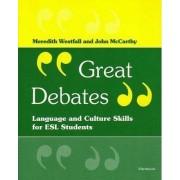 Great Debates by Meredith Westfall