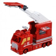 Tomica Hyper Rescue container ladder fire truck (japan import)