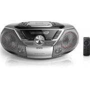 Radio CD Player Philips Soundmachine AZ783 12W USB Tuner Digital FM MP3 WMA LineIn LineOut Telecomanda Argintiu
