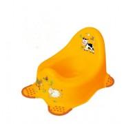 Noša za bebe žuta Funny Farm 8722 OKT