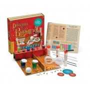 Thames & Kosmos 600001 Dangerous Book For Boys Classic Chemistry Science Kit With Coloring Book