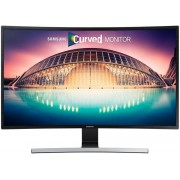 "Monitor VA LED Samsung 31.5"" LS32E590CS, Full HD (1920 x 1080), HDMI, DisplayPort, 4 ms, Boxe, Ecran Curbat (Negru)"