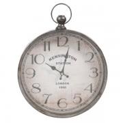 Maisons du monde Orologio in metallo a forma di orologio da taschino 30 x 36 cm PARKER