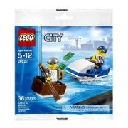 Lego City Police Watercraft 30227