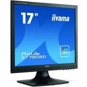 Monitor LED Iiyama ProLite E1780SD-B1 17 inch 5 ms Black