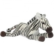 Hamleys Lying Animal Zebra 8 Inch