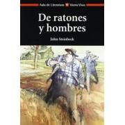 De ratones y hombres / Of Mice and Men by John Steinbeck