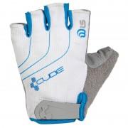 Cube Natural Fit Kurzfinger Handschuhe Damen white'n'grey'n'blue M Handschuhe kurz