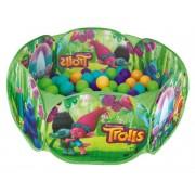 Piscina de Bolinhas Trolls com 100 Bolinhas Zippy Toys