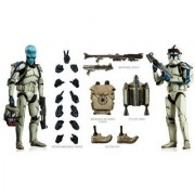 Cad Bane in Denal Clone Trooper Disguise Sideshow Collectibles Figure