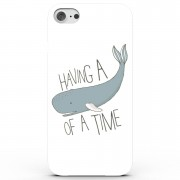 Phone Case - 3D Full Wrap - Plastic - iPhone 6/6s Having a Whale of a Time! - Blue