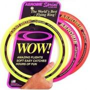Aerobie Sprint Flying Ring 10 Diameter Assorted Colors Set of 3