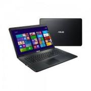 Лаптоп - Asus X751LKB-TY110H Intel Core i7-5500U (2.4GHz-3GHz, 4MB), 17.3' HD+ (1600x900) LED Glare, Web Cam, 8192MB DDR3 1600MHz, 90NB0771-M016