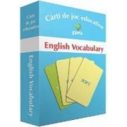 English Vocabulary - Carti de joc educative