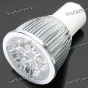 GU5.3 5W 450-Lumen 6500K luz blanca fria 5-LED bulbo de la taza (ac 85 ~ 265V)