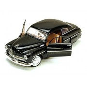 1949 Mercury Eight Coupe Black - Motormax 73225 - 1 24 scale Diecast Model Toy Car