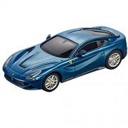 Carrera GO!!! 20064055 - Modellini in Scala Ferrari F12 Berlinetta Abu Dhabi Blue, Azurro Metallizzato