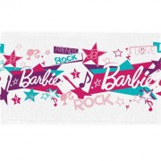 Toalha Para Lancheira - Barbie