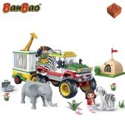 BanBao Safari Jeep met kooi 6653
