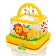 Intex Soft Sides My First Lil' Gym Inflatable Bouncy Activity Play Centre For Babies And Toddlers Of 9 - 18 Months