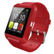 Smartwatch Bluetooth U8, Red