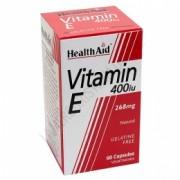 Vitamina E natural 400 UI Health Aid 60 c