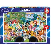 Educa 16297 - Puzzle 1000 The Marvellous World Of Disney II