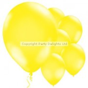 Globos amarillos - 11'' globo del látex (paquete de 10)