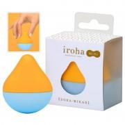 Iroha mini - mini csikló vibrátor (narancs-kék)
