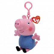 BRELOC PEPPA PIG GEORGE (8.5 CM) - TY (ST9XTY46132)