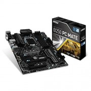 MSI B250 PC MATE Carte mère Intel ATX Socket LGA 1151