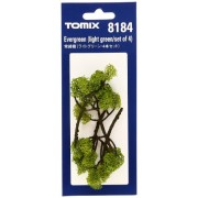 Evergreen Tree Light Green TOMIX 8184 N scale Trees (japan import)