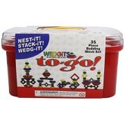 Wedgits To Go Set - Caja de bloques de construcción