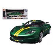 Lotus Evora GT4 Green GT Racing 1/24 by Motormax 73771