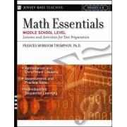 Math Essentials, Middle School Level: 8th Grade by Frances McBroom Thompson