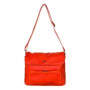 Módní dámská kabelka přes rameno Roxy The Wedge oranžová