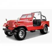 Jeep Wrangler - rosu - 1:24