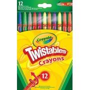 Crayola - 52-8530-E-000 - 12 Crayons twistables