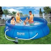 Bestway - Семеен басейн с филтърна помпа 366 х 91см