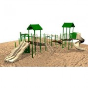 Kidstuff Playsystems, Inc. Playsystem 6677-02 Color: Green, Tan and Brown