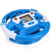 Steering Wheel Learn To Drive Simulated Toy Driving Machine For Kids Color May Vary