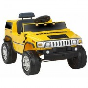 Kidz Motorz Hummer 6V Battery Powered Jeep 571 Color: Yellow